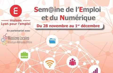 Semaine de l'emploi et du numérique, Métropole de Lyon