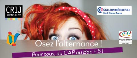 Osez l'alternance, à Saint-Etienne
